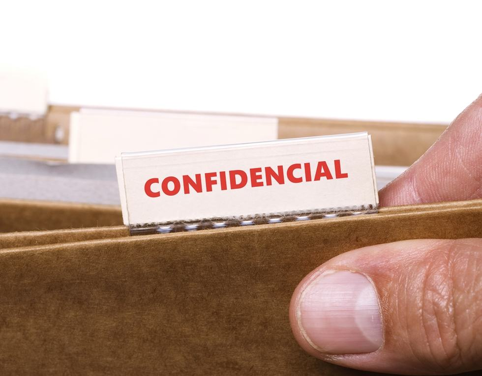 Confidential documents